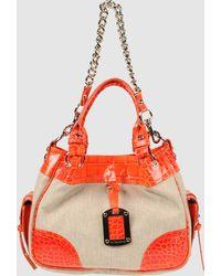 Via Repubblica Medium Fabric Bag - Lyst