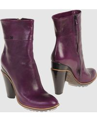 Costume National Ankle Boots - Lyst