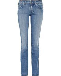 Notify Hellebora Mid-rise Straight-leg Jeans - Lyst