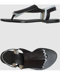 Studio Pollini Flip Flops - Lyst