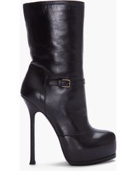 Saint Laurent Tribtoo Boots - Lyst