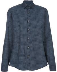 Gucci Printed Classic Shirt - Lyst