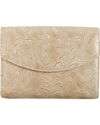 L'Wren Scott Small Stamped Leather Pouchette - Lyst