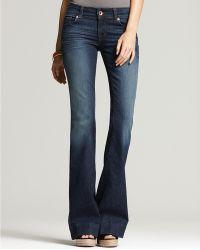 Ash - J Brand Lovestory Flare Jean in Heritage Wash - Lyst