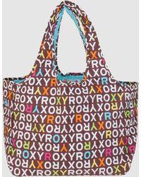Roxy Medium Fabric Bag - Lyst