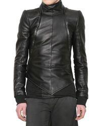 Gareth Pugh - Detachable Bolero Nappa Leather Jacket - Lyst