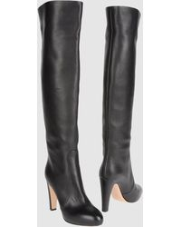 Gianvito Rossi High-heeled Boots - Lyst