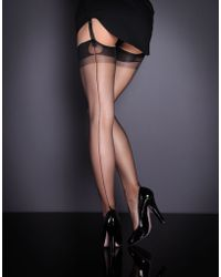 Agent Provocateur Fully Fashioned Stocking - Lyst