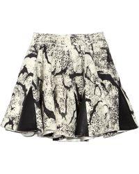 Felder Felder - Alice Wool and Leather Skirt - Lyst