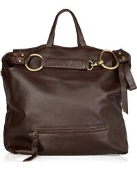 Foley + Corinna   Slouchy Textured-Leather Hobo   Lyst