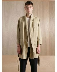 Unused - Unused Mens Cotton Coat - Lyst