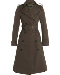 Derek Lam Trench Coat - Lyst