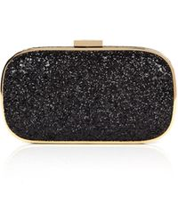 Anya Hindmarch Black Marano Clutch - Lyst