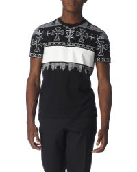 Givenchy All-over Print T-shirt - Lyst