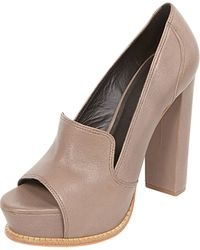 Elizabeth And James Open-toe Platform Pump - Lyst