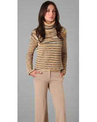 M Missoni Turtleneck Sweater - Lyst