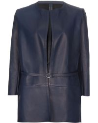 MSP - Nappa Leather Jacket - Lyst