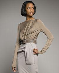 Donna Karan New York Bodysuit - Lyst