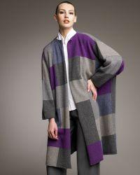 Eskandar   Patchwork Cashmere Cardigan Coat   Lyst