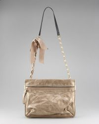 Lanvin - Metallic Chain Crossbody Bag - Lyst