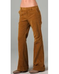 Boy by Band of Outsiders - Wide Leg Corduroy Trousers - Lyst