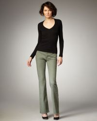 CJ by Cookie Johnson - Grace Boot-cut Jeans, Olive - Lyst
