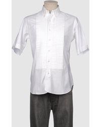Brooks Brothers Short Sleeve Shirt - Lyst