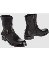 Jil Sander Ankle Boots - Lyst