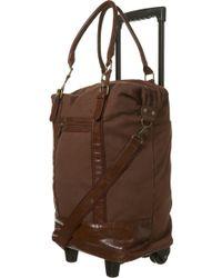 TOPSHOP - Chocolate Canvas Contrast Trim Trolley Bag - Lyst