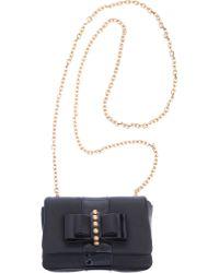 Christian Louboutin Mini Sweet Charity Leather Bag - Lyst