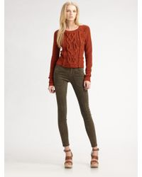 Marc By Marc Jacobs Uma Sweater brown - Lyst
