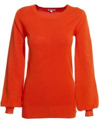 Reiss Crew Neck Knit - Lyst