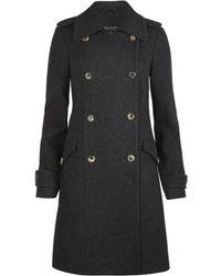 AllSaints Boni Coat - Lyst
