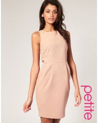 ASOS Collection Asos Petite Tailored Pencil Dress - Lyst