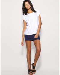 ASOS Collection Asos Jersey Micro Mini Skirt - Lyst