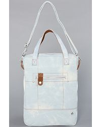 Nixon The All Business Laptop Bag in Light Denim - Lyst