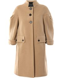 Burberry Prorsum Bonded Double Wool Coat - Lyst
