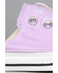 Converse - The Chuck Taylor All Star Cut Away Sandal in Lupine Violet - Lyst