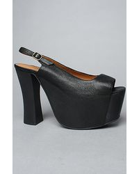 Jeffrey Campbell The Big Girl Shoe in Black - Lyst