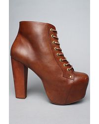 Jeffrey Campbell The Lita Shoe in Brown - Lyst