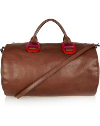 Meredith Wendell - Leather Duffel Bag - Lyst