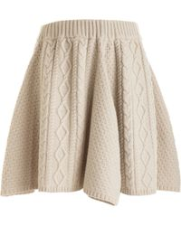 Rodarte x Opening Ceremony Cable Skirt - Lyst