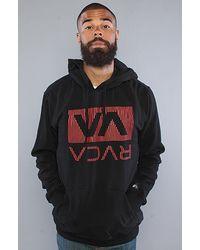 RVCA The Oxnard Hoody in Black - Lyst