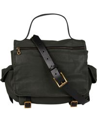 Jas MB - Green Riley Leather Satchel Bag - Lyst