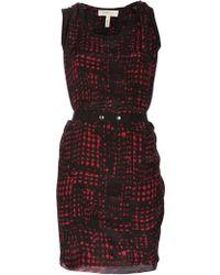 Etoile Isabel Marant Silk Belted Dress - Lyst