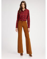 Boy by Band of Outsiders Check Easy Shirt - Lyst