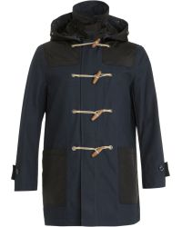 Burberry Brit - Toggle Coat - Lyst