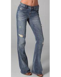 Current/Elliott The Cowboy Jeans - Lyst