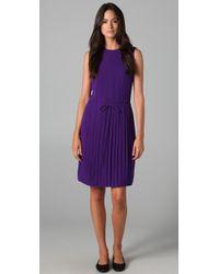 Lyn Devon - Pleated-skirt Tea Dress - Lyst