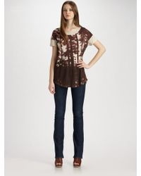 Marc By Marc Jacobs Through The Trees T-shirt - Lyst